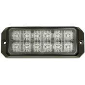 "5"" 12 Blue LED Strobe Light Buyers Products 8891704"