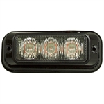 "3"" 3 Amber LED Strobe Light"