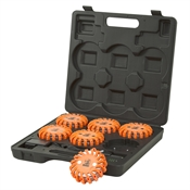 Rechargeable Road Flare 6 Piece Kit