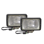 12 Volt DC 800 Lumen LED Pair Utility Flood Lights