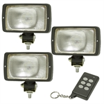 3 Piece  800 Lumen LED Light Kit With Wireless Control
