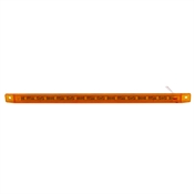 "12"" Amber Ultra Thin 12 Volt DC Light Bar"