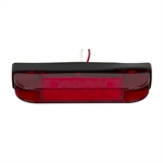 12 Volt DC Red Thin Line LED Marker/Clearance Light