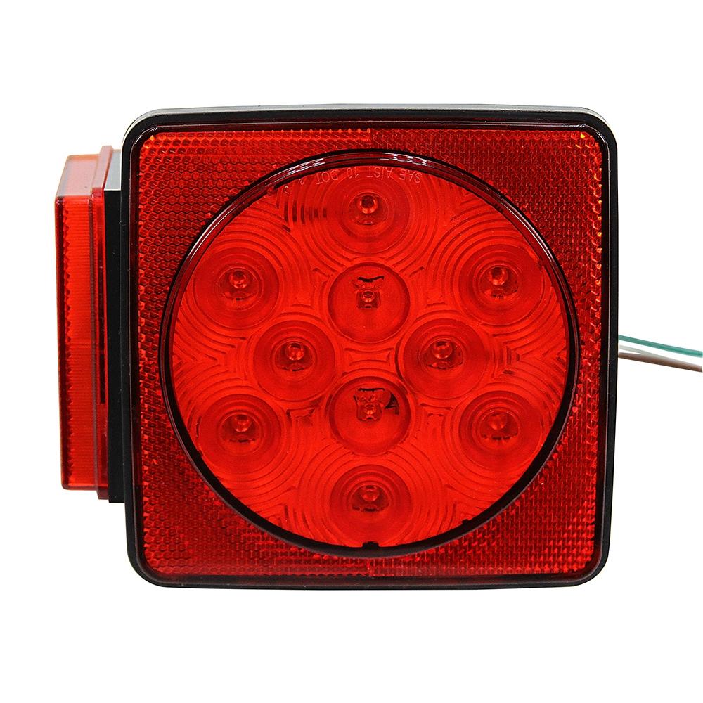 12 Volt DC LED Stop/Turn/Tail Light 5 Box Style