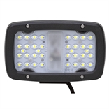 "12-24 Volt DC 7920 Lumen 36 LED 6.3"" Rectangular Flood Light"