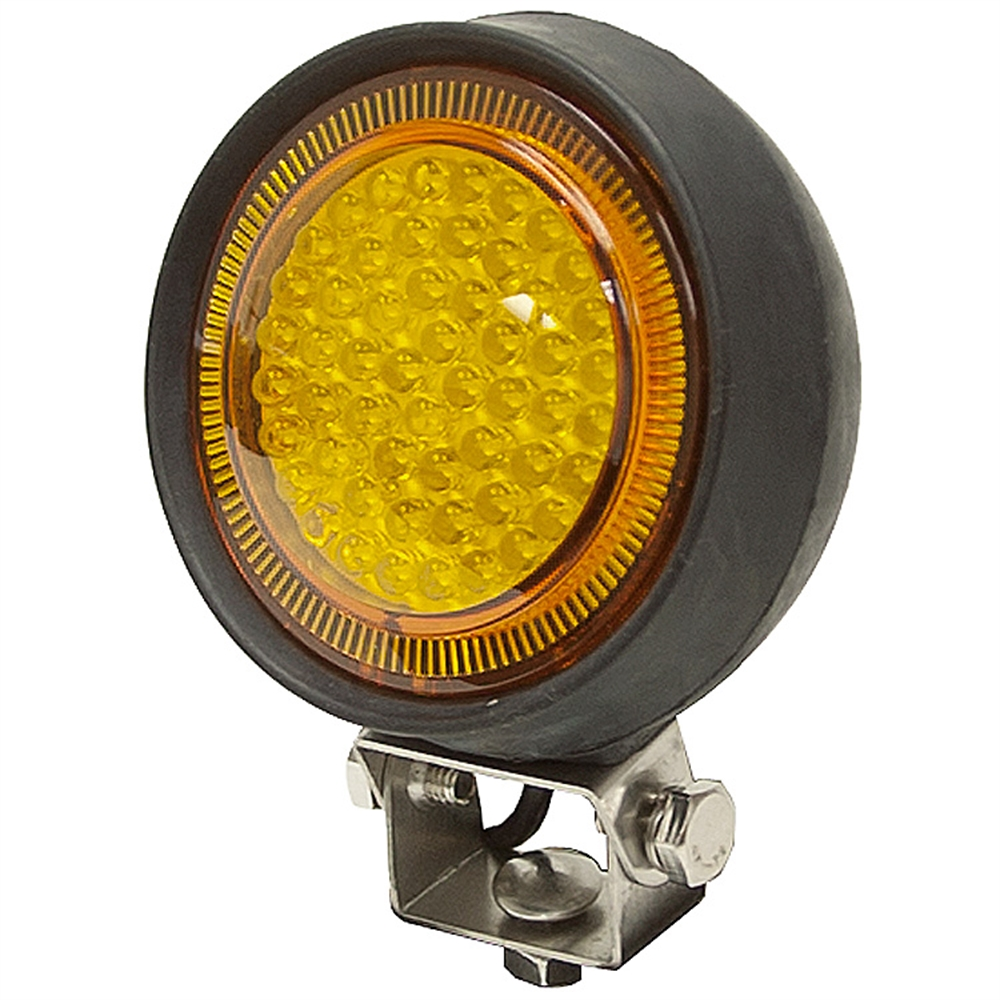 Led Lights For Utility Tractors : Vdc lumens amber led utility light dc mobile