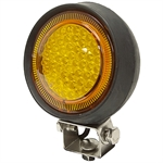 12 Volt DC 350 Lumens Amber Led Utility Light