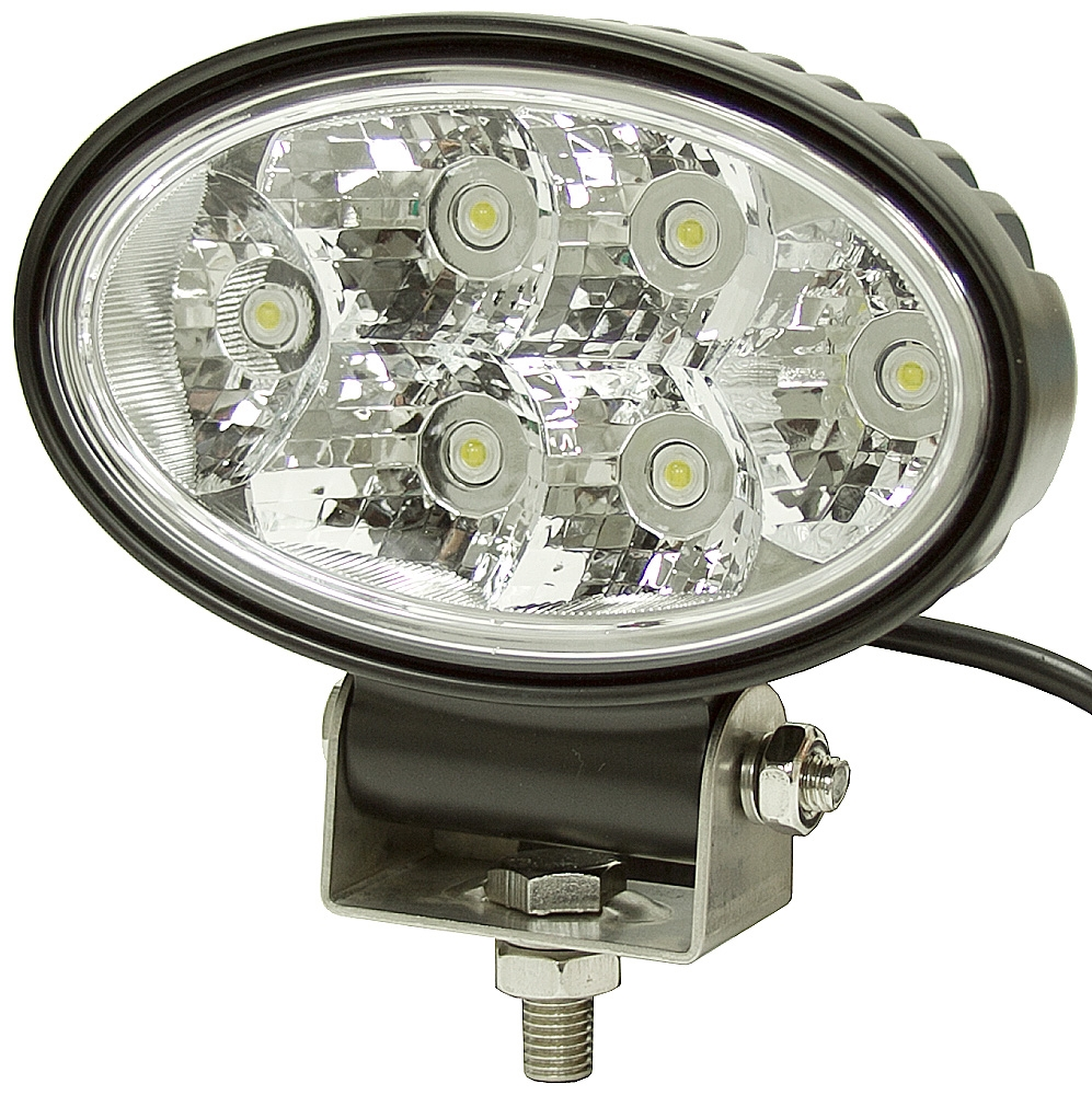 Led Lights For Utility Tractors : Vdc lumens oval clear led utility light dc