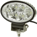 12 Volt DC 1350 Lumens Oval Clear Led Utility Light Buyers Products 1492113