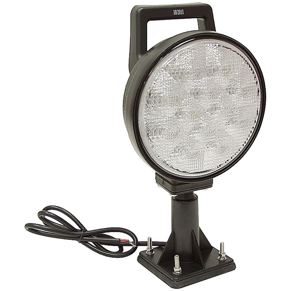 Led Lights For Utility Tractors : Vdc lumens led swivel utility flood light dc