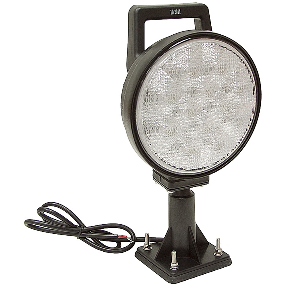 12 Volt Dc Led Light Fixtures: 12 Volt DC 1350 Lumens Led Swivel Utility Flood Light