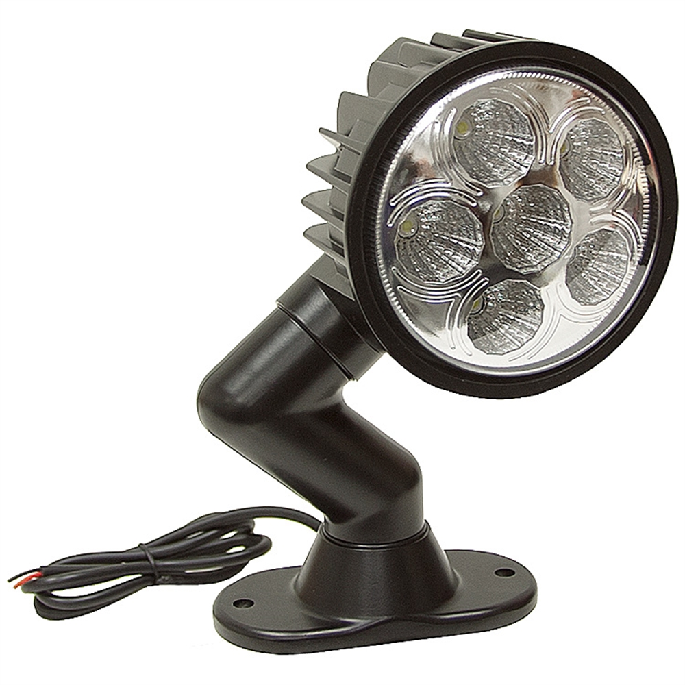 12 volt dc 1350 lumens led utility swivel spot light dc. Black Bedroom Furniture Sets. Home Design Ideas