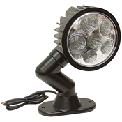 12 Volt DC 1350 Lumens Led Utility Swivel Spot Light Buyers Products 1492126
