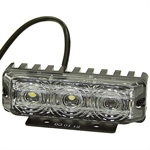 120 Lumen 12 Volt DC LED Clear Projector Light Buyers Products 5624433