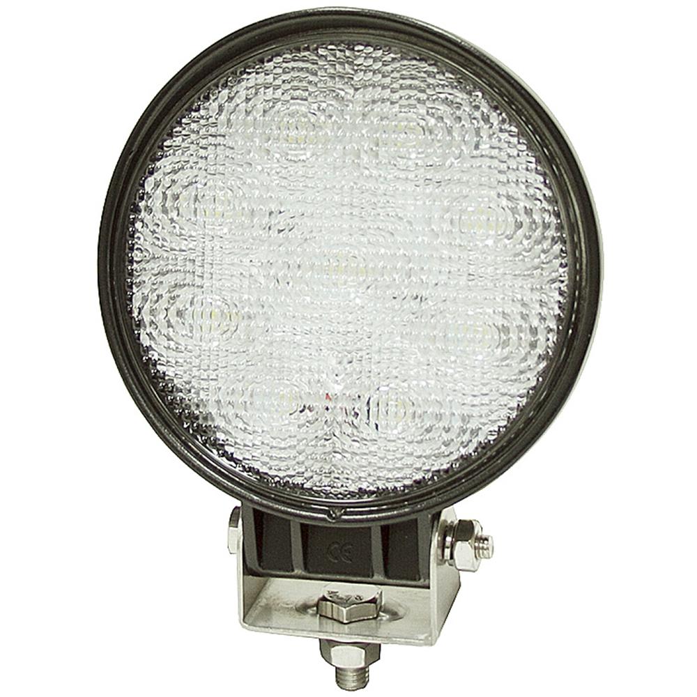 12 24 vdc 1500 lumen led flood light round 1492114 dc mobile equipment lights lights. Black Bedroom Furniture Sets. Home Design Ideas
