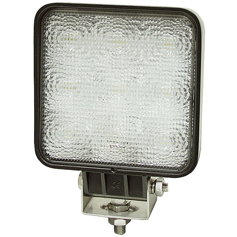 12 24 volt dc 1500 lumen led flood light square1492119 buyers products brands www. Black Bedroom Furniture Sets. Home Design Ideas