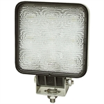 12-24 Volt DC 1500 Lumen LED Flood Light Square Buyers Products 1492119