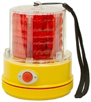 Mag Mount Led Flashing Strobe Light Red