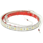 "48"" 12 Volt DC 72 CLEAR WARM LED Light Strip Buyers 5624872"