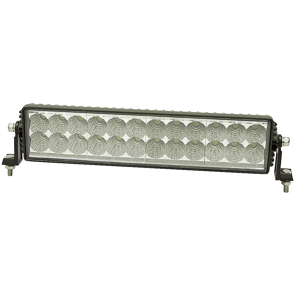 24 led 12 24 volt dc 5400 lumen spot work light bar. Black Bedroom Furniture Sets. Home Design Ideas