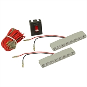 12 Volt DC 6 LED Light Kit LS-104W