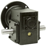 10:1 RA Gear Reducer 0.77 HP 56C Dual Output