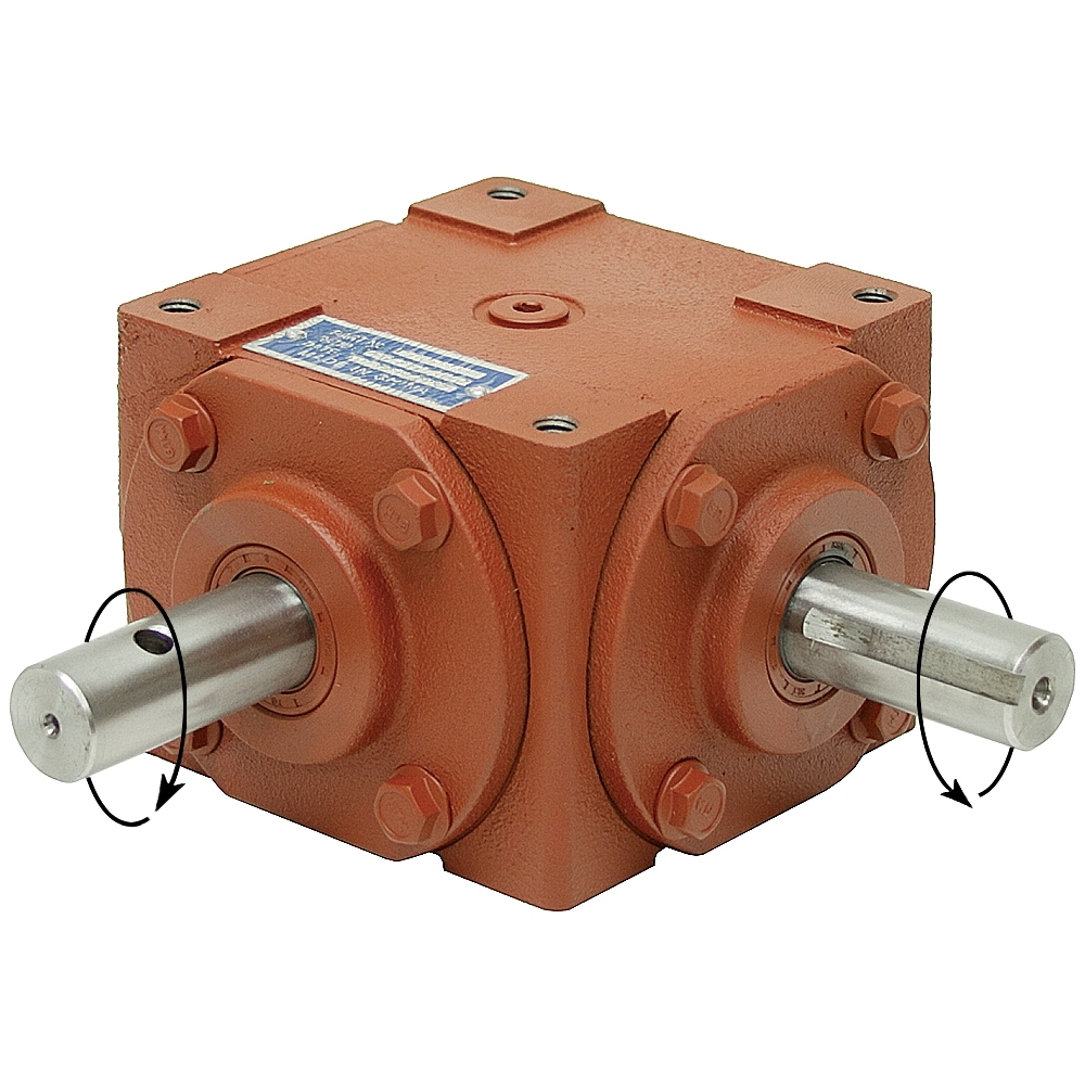 1 1 32 Hp Right Angle Gearbox Gearboxes Gear Reducers