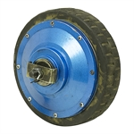 180 Watt 90 RPM 12 Volt DC Drive Motor Only Good Tire JD-HUB-24