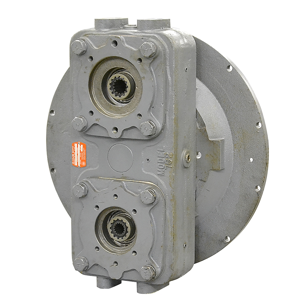 Hydraulic Drive Gearboxes : Dual pump drive hub city f gearboxes gear