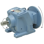10.02:1 Size 37 2 HP Inline Gear Reducer