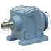 89.8:1 Size 77 2 HP Inline Gear Reducer
