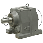 10.66:1 Size 87 7.5 HP Inline Gear Reducer WWE WINL87-10/1-213/5TC
