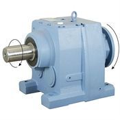 10.12:1 Size 137 60 HP Inline Gear Reducer