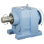 10.12:1 Size 137 75 HP Inline Gear Reducer