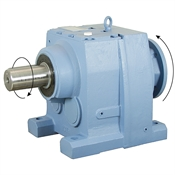 117.25:1 Size 137 15 HP Inline Gear Reducer