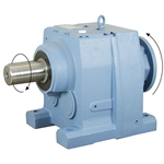 20.68:1 Size 137 75 HP Inline Gear Reducer
