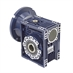 Aluminum Right Angle Worm Gear Reducer, 63 mm C.D., 100/1, 56C Input Flange, Hollow Bore Output - Alternate 1