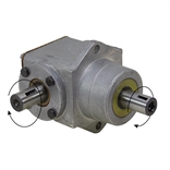 10 HP 1:1 RA 3600 RPM Same Rotation In/Out Peerless 1000-014 Gearbox