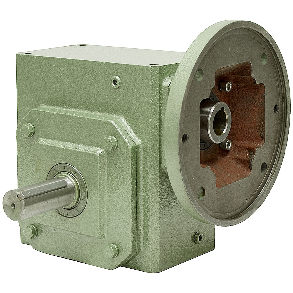 10 1 ra gear reducer 3 4 hp 182tc cast iron c face motor for 1 4 hp gear reduction motor