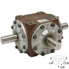 1:1 60 HP CURTIS RA 3 SHAFT 412M GEARBOX 922054