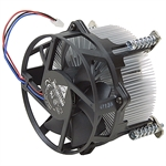 12 Volt DC Fan w/Heatsink