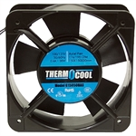 198 CFM 115 Volt AC Fan Square