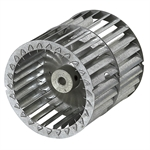 "4-1/8"" x 4-1/8"" Double Blower Wheel"