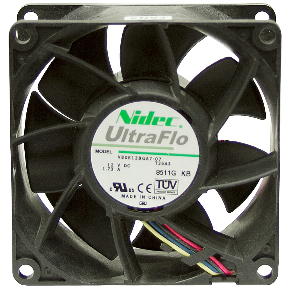 109 Cfm 12 Volt Dc Fan 20 7 Watts