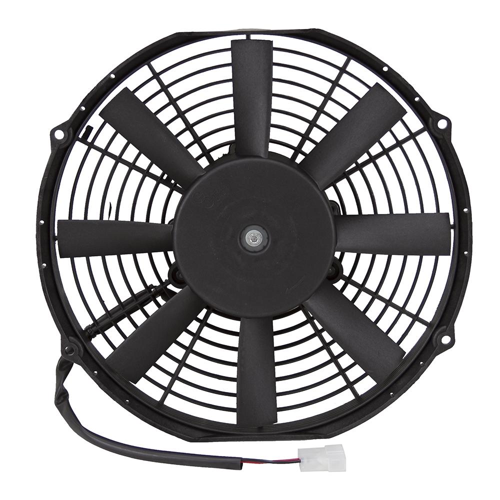 1048 cfm 12 diameter 12 volt dc gc pusher fan pusher. Black Bedroom Furniture Sets. Home Design Ideas