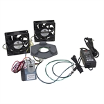 12 Volt DC Fans, Air Pump, Power Supply and Speed Controller