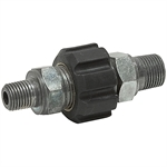 3/8M TO 1/4M TWIST DISCONNECT COUPLER