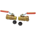"3/4"" Brass Ball Valves (2 Per Package)"