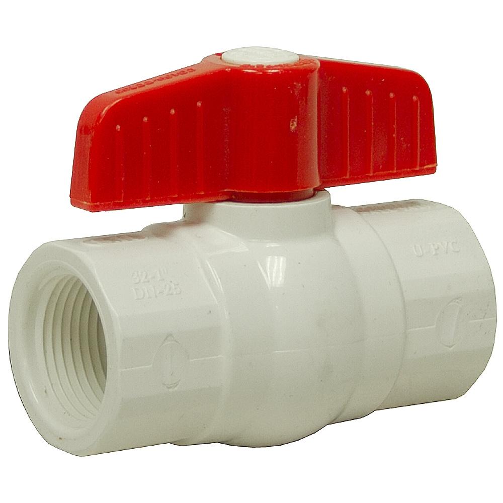 Pvc Water Valve : Quot npt pvc ball valve shut off valves water