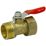 "1/2"" NPT Male/Female Ball Valve"